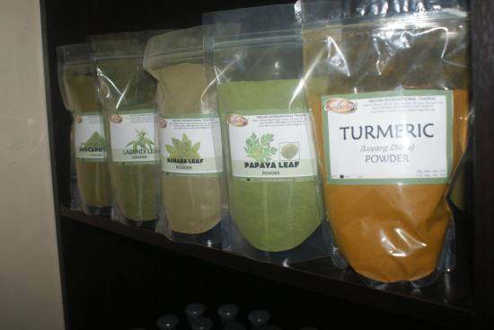 Powdered Herbs in the Philippines